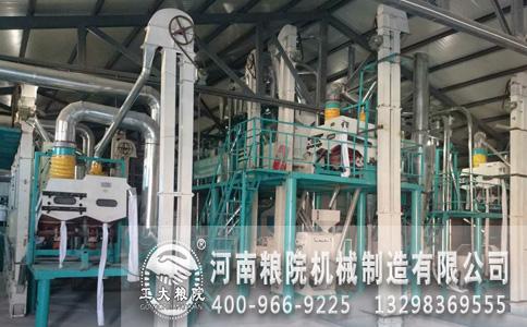 东北50吨玉米深加工机械试机成功以开始赢利