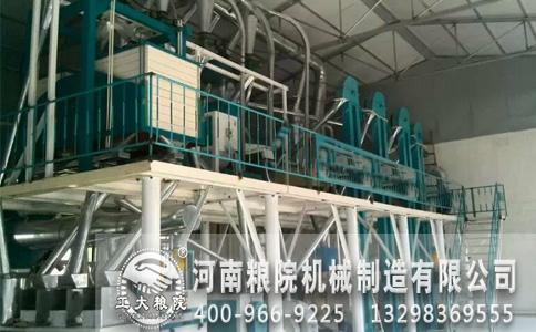 玉米加工设备高温处理方法及作用